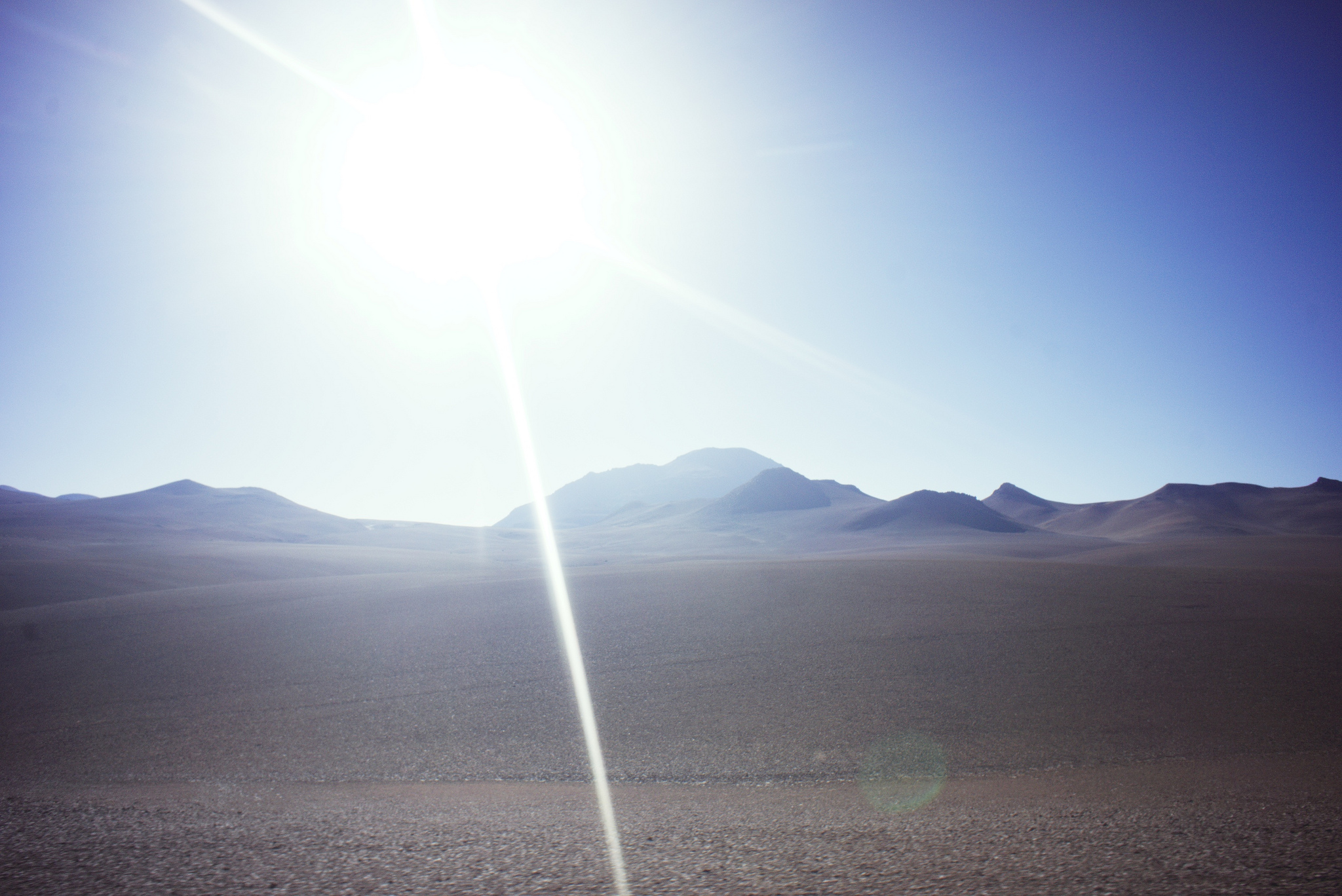 The high, flat Atacama desert has some of the most intense sun in the world.