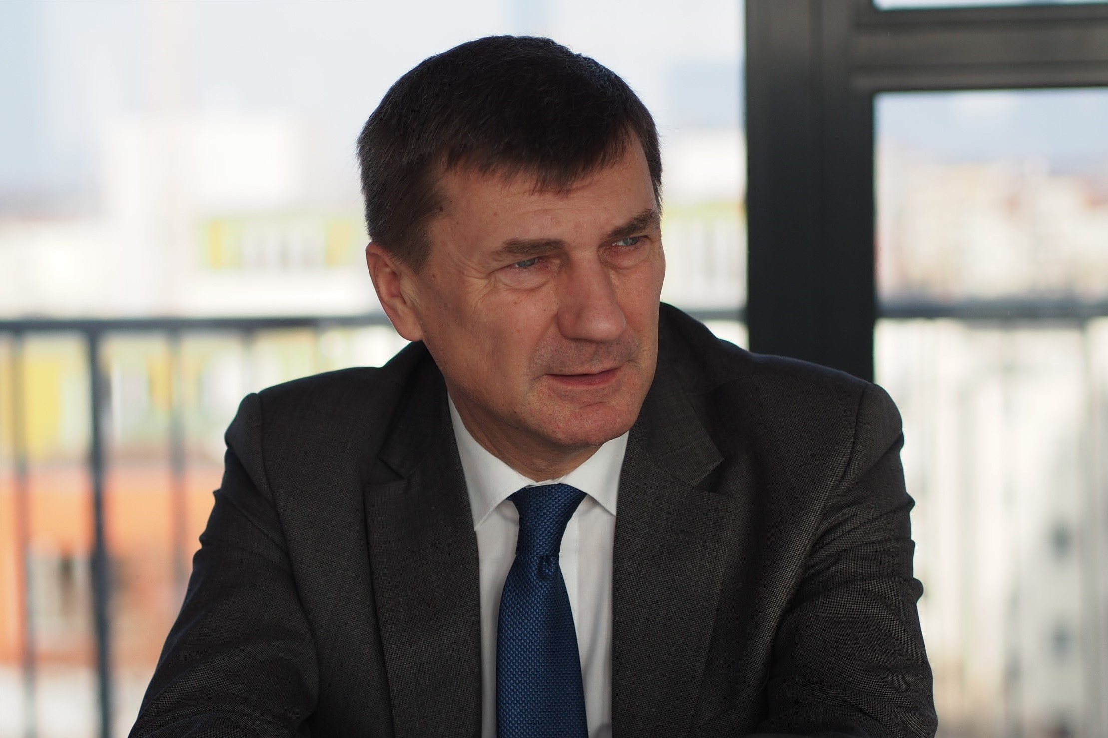 Andrus Ansip, the EU vice president in charge of the digital single market