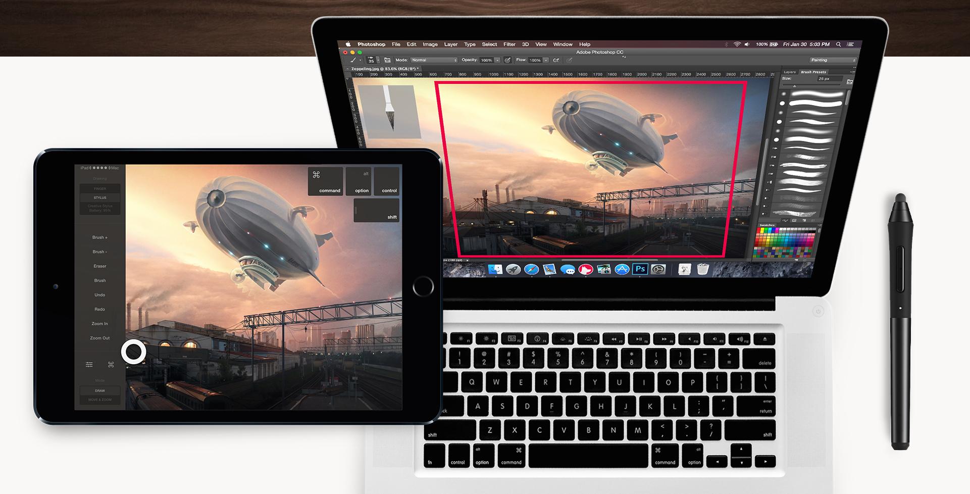 astropad on ipad and mac