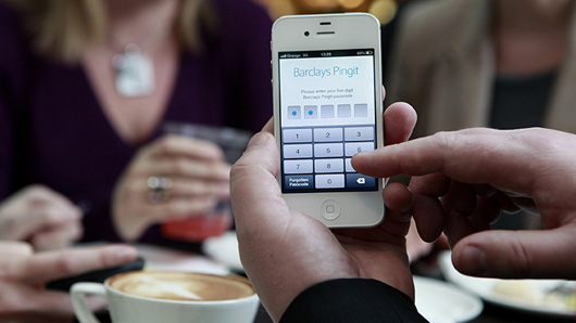 Barclays Pingit mobile payments app