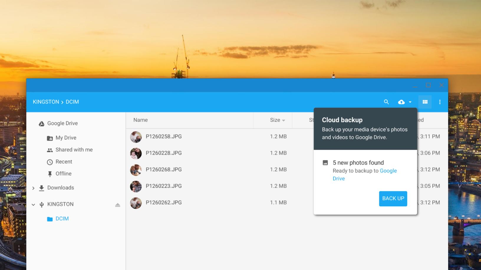 cloud-backup Chrome OS