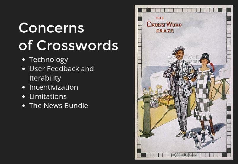 Crossword slide
