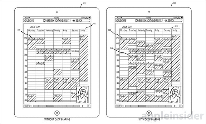 facetime screen sharing patent