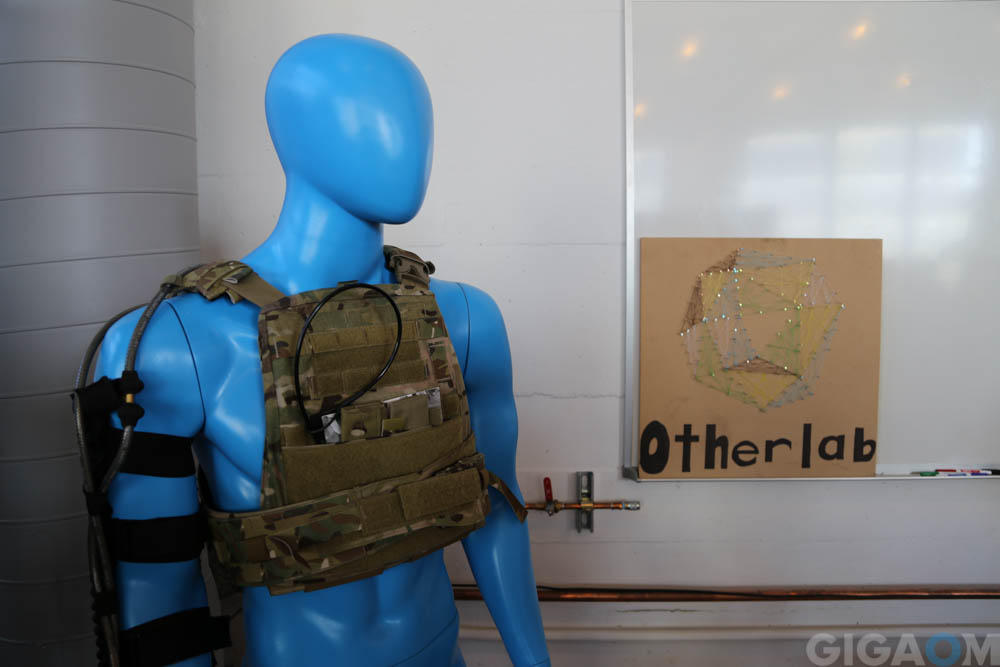 Orthotics from Otherlab, a low cost and light exoskeleton made from fabric.
