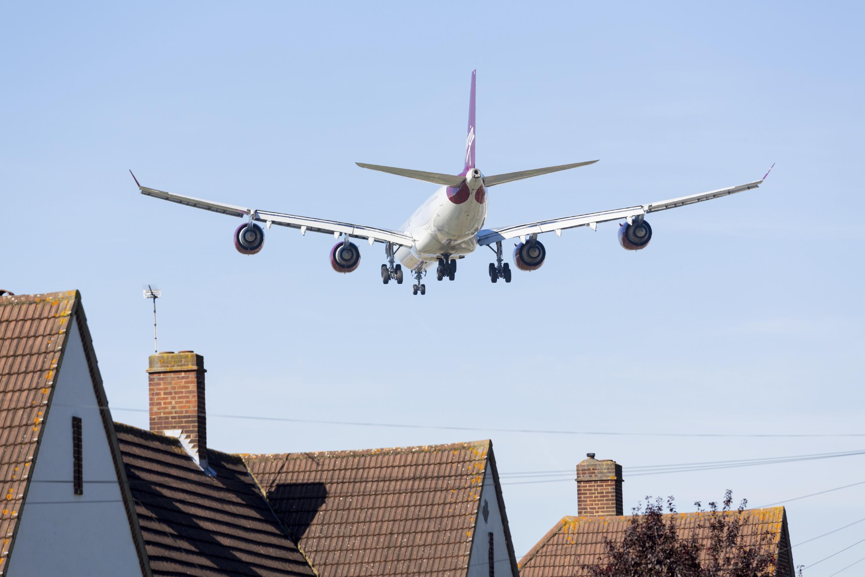 Airplane house Heathrow