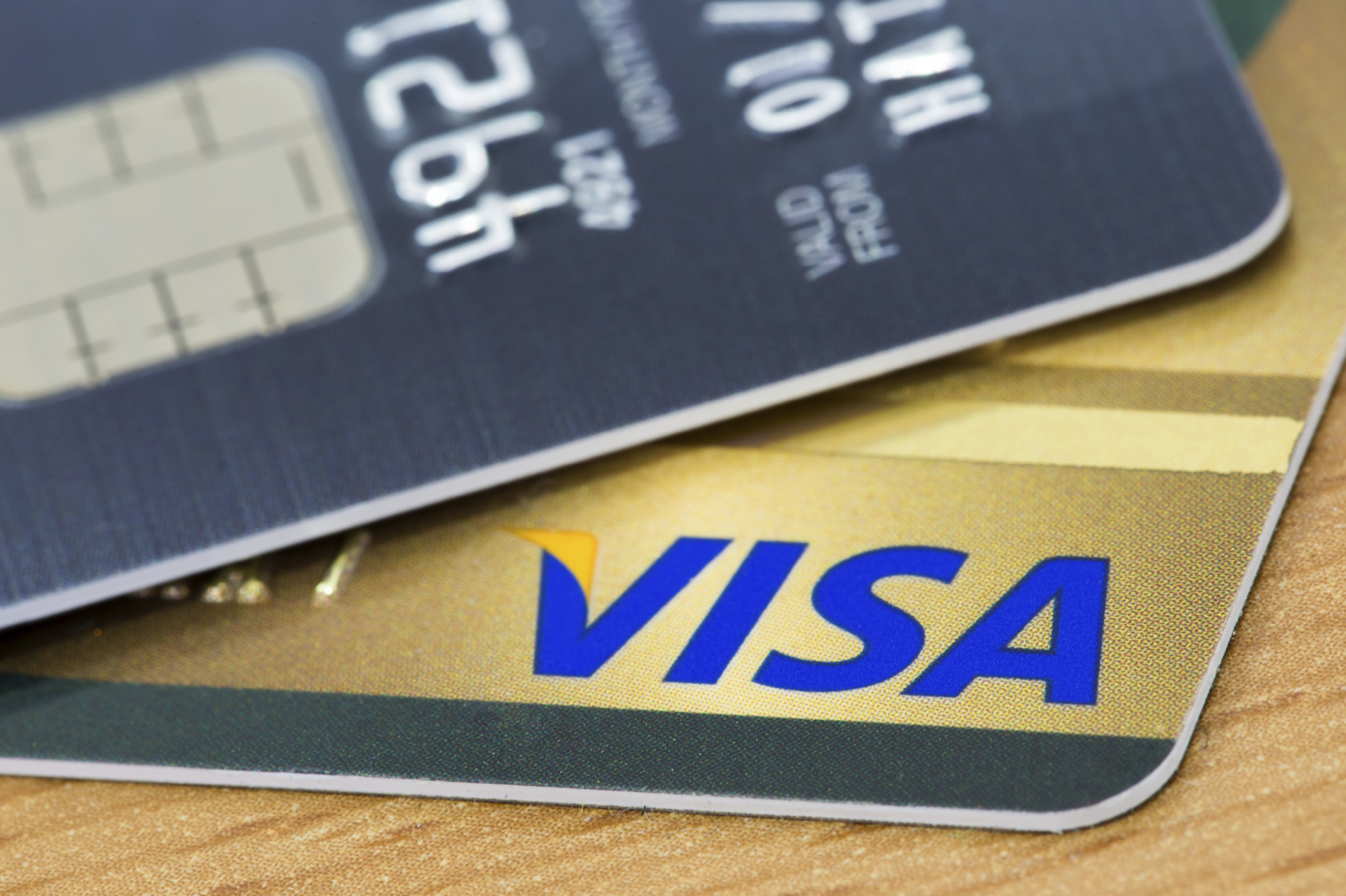 Visa credit card generic