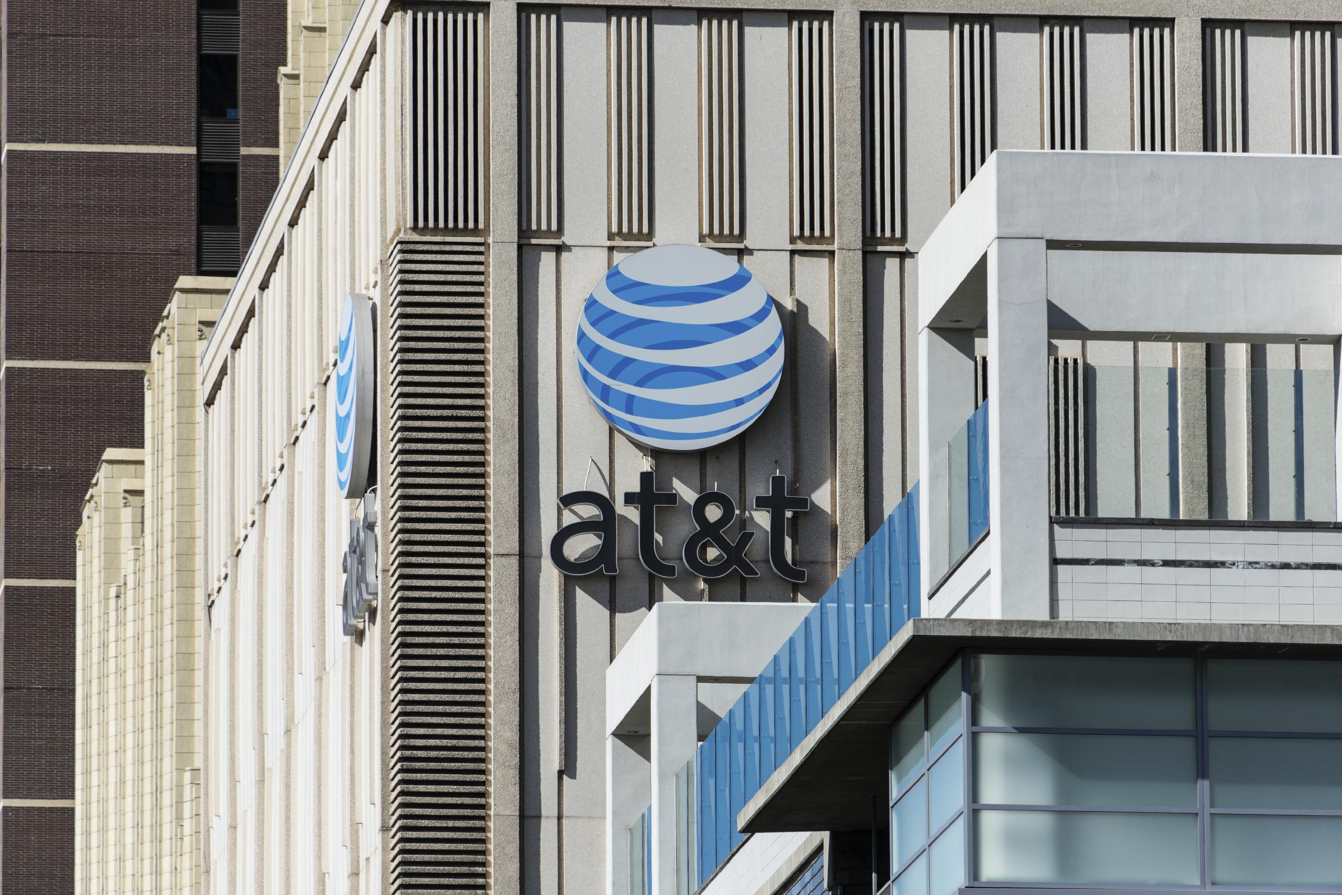 AT&T building in Denver