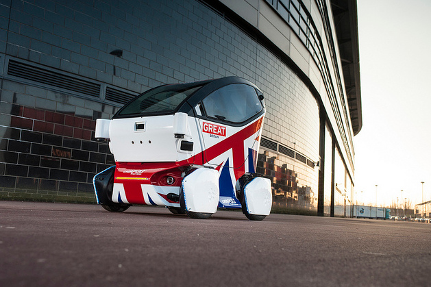 The Lutz Pathfinder Pod autonomous vehicle from Catapult Systems