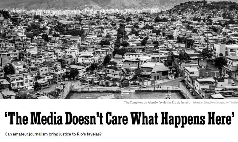 NYT magazine Rio feature
