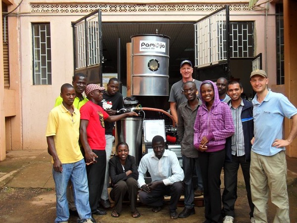 A Power Pallet operating in Uganda.