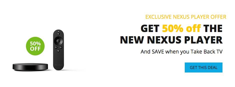 sling tv nexus player promo