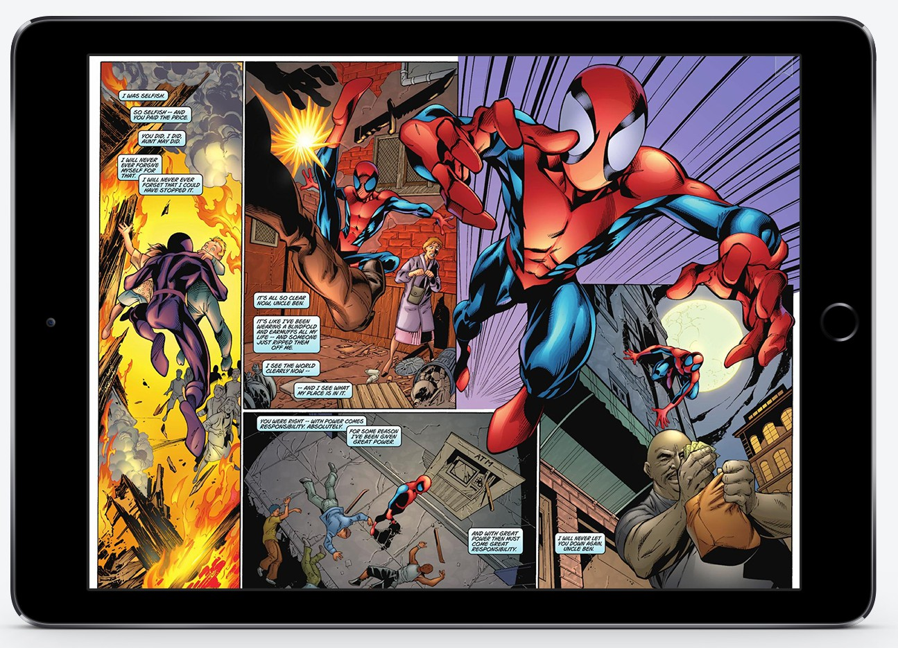 Scribd comics Spiderman
