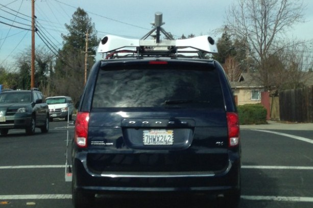 Apple Mapping van
