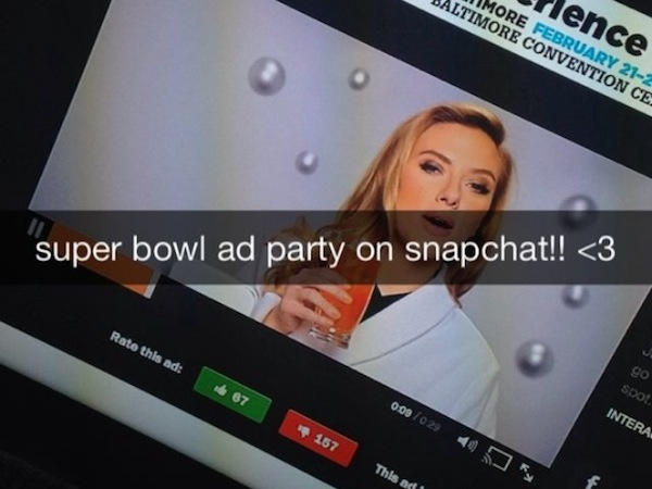 The throwback that Snapchat's ad model is.