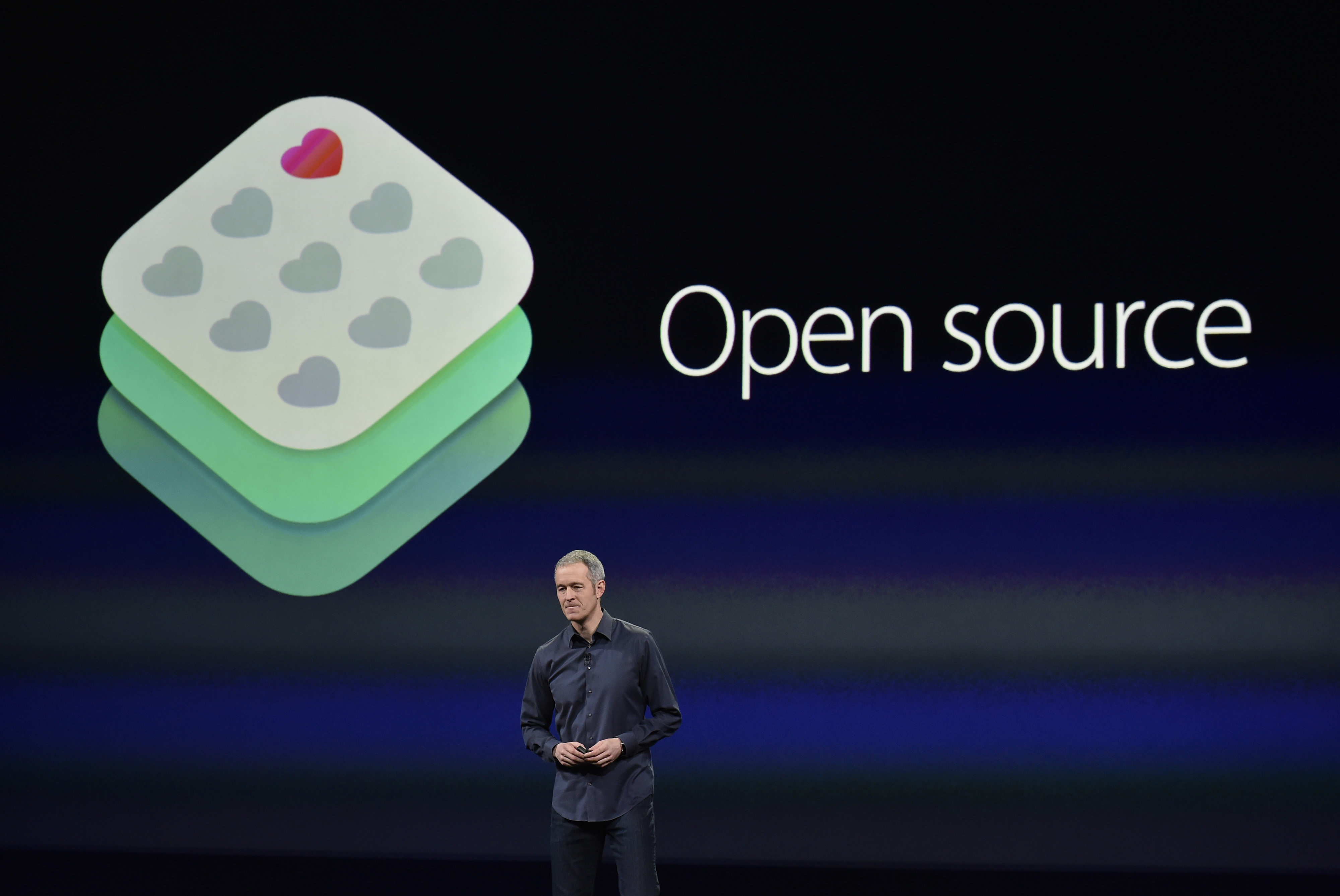 Jeff Williams, senior vice president of operations for Apple Inc., speaks during the Apple event in San Francisco on March 9, 2015.