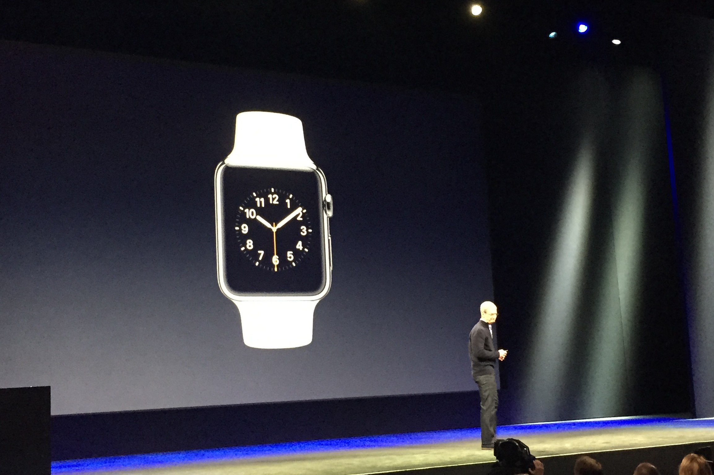 Apple Watch and Tim Cook