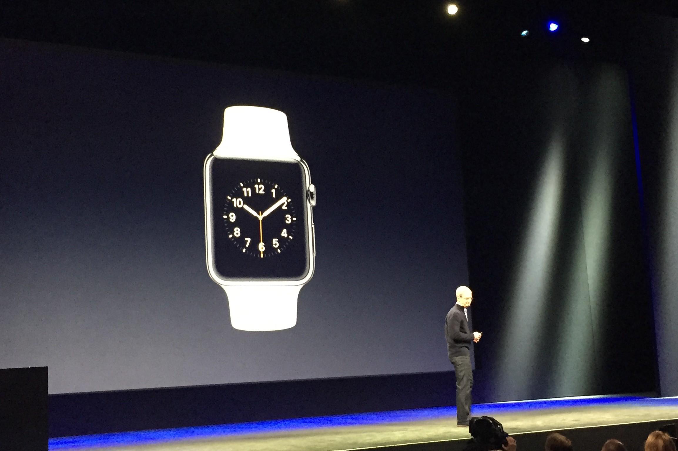 Apple's take on the smartwatch: Elegant evolution
