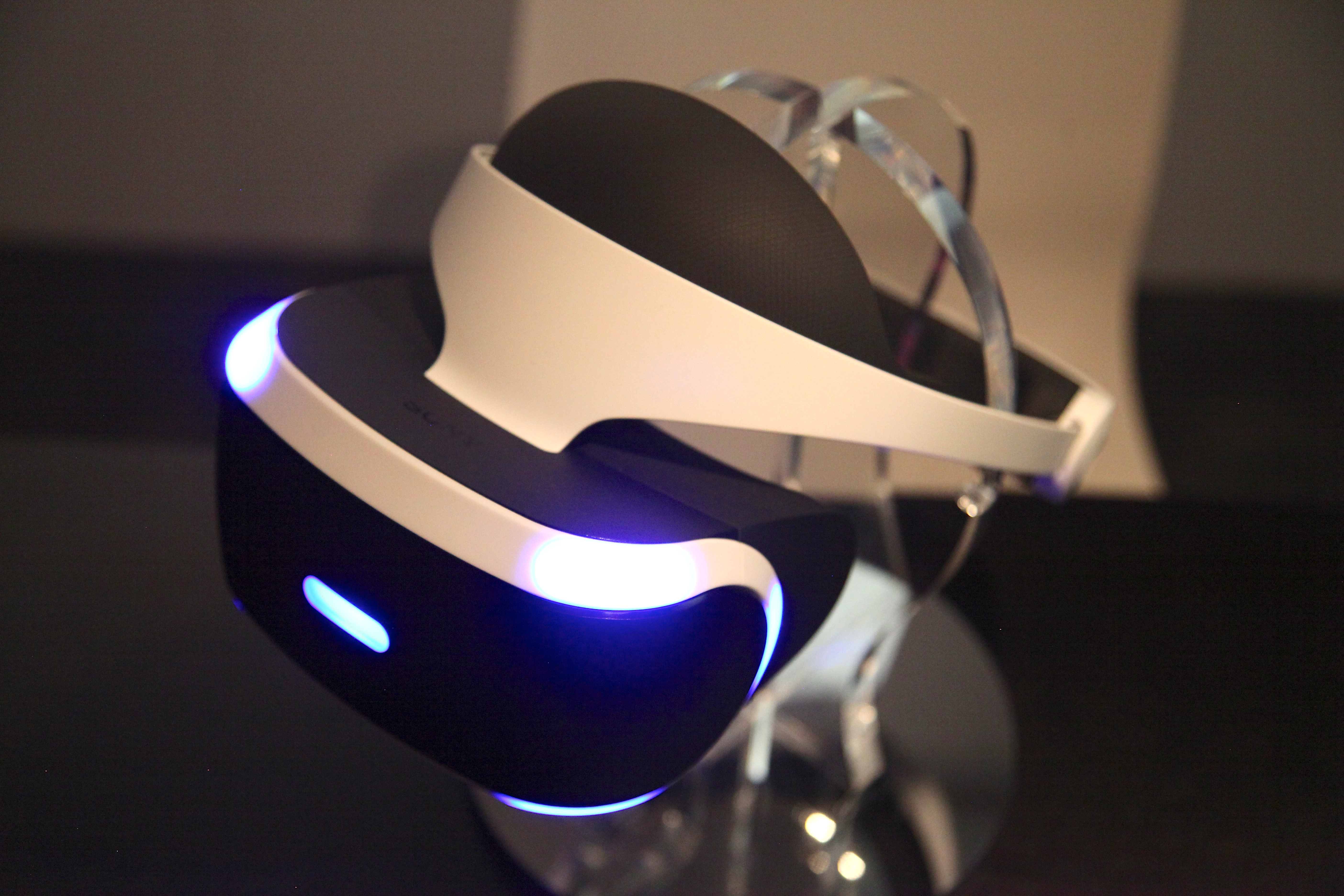 The Project Morpheus virtual reality headset is much more comfortable to wear than its rivals.