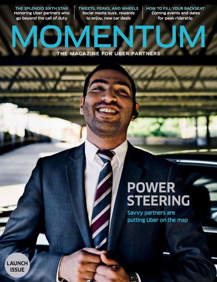 momentum mag drivers Uber