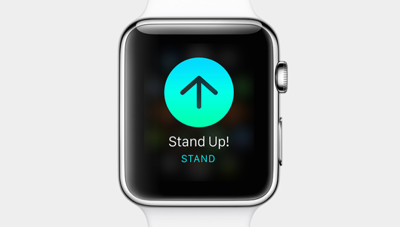 Apple Watch stand up