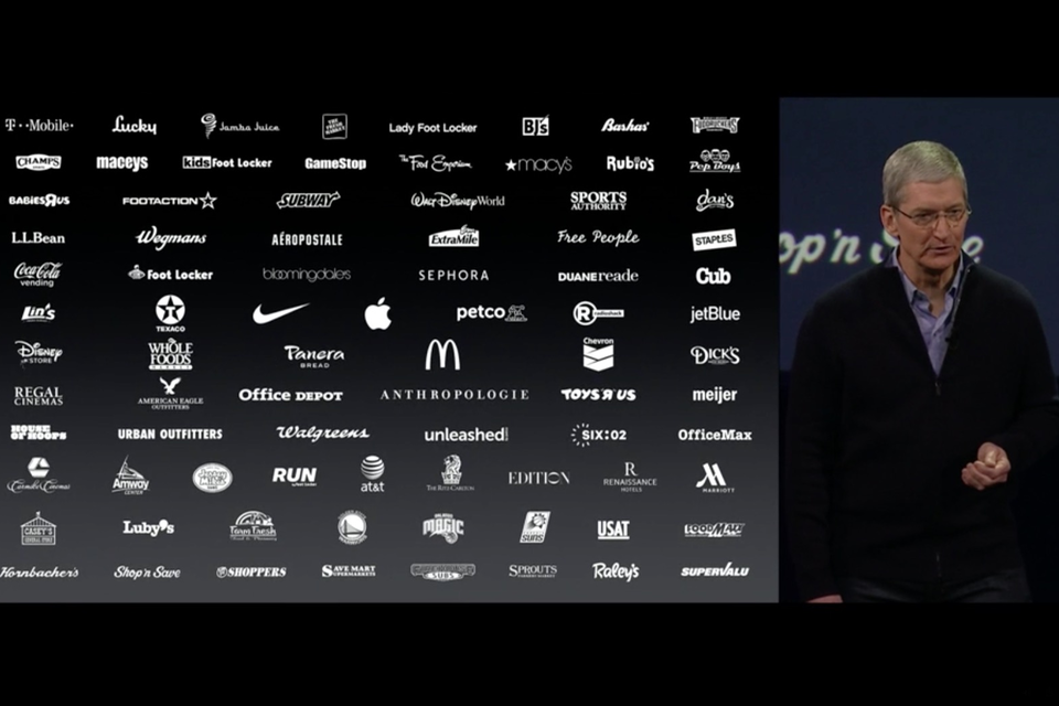 A growing list of retailers accept Apple Pay, Apple revealed at its Spring Forward event.